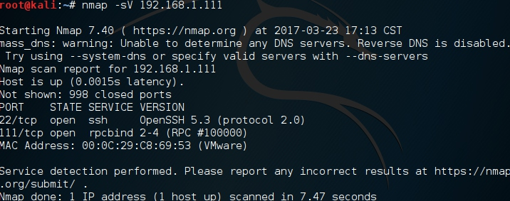 内网渗透之扫描与SSH暴力破解